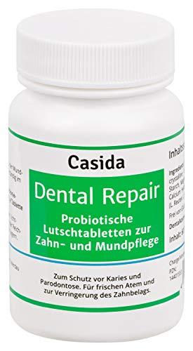 Dental Repair Probiotika Lutschtabletten - Schutz vor Karies, Parodontose und Zahnfleischentzündungen - Aus der Apotheke - 60 Tabletten