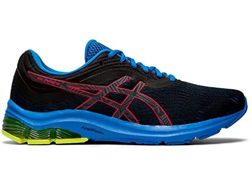 ASICS Men's Gel-Pulse 11 Lite-Show Running Shoes, 12M, Black/Laser Pink