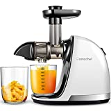 Slow Juicer,AMZCHEF Slow Masticating Juicer Extractor Easy to Clean, Cold Press Juicer with Brush,...