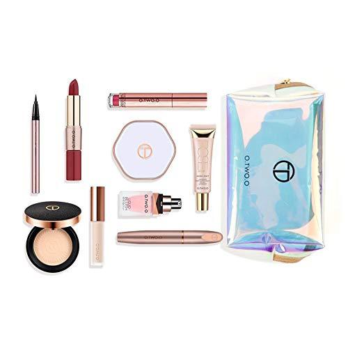 fervory 10PCS Palette Maquillage Yeux Coffret Maquillage Femme Ensemble De Maquillage Cosmétiques À La Mode Et Colorés Kit De Voyage pour Présenter des Femmes De Noël