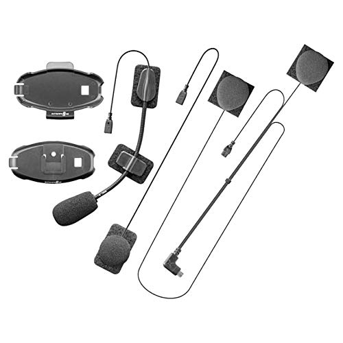 INTERPHONE Cellularline MICINTERPHOF10 | Kit de Audio Universal para Intercom Active - Connect