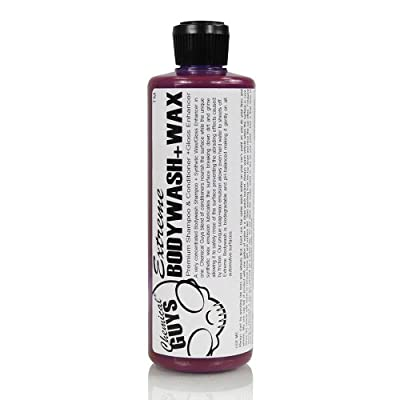 Chemical Guys CWS_107 Extreme BodyWash, Synthetic Wax and Gloss Enhancer - 1 Gallon
