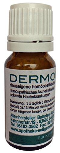 Dermolind Globuli - 10 g - klassische Homöopathie aus deutscher Traditionsapotheke