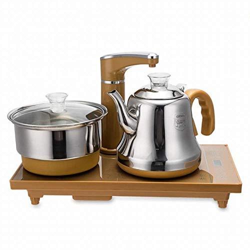 1yess Edelstahlautomatischer Wasser Elektromagnetischer Kaffeeofen Home Intelligente Desinfektion Touch Fast NACE Water Teekanne, Go, 1