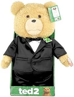映画 Ted2 テッド2 公式 おしゃべり ぬいぐるみ 40cm 16インチ タキシード しゃべる テディベア [並行輸入品]