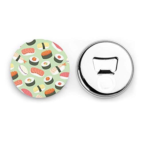 Sushi Patrón de comida Imanes de refrigerador Abrebotellas de cerveza Botella de...