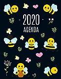 Ape Agenda 2020: Agenda di 12 Mesi con Calendario 2020 | Pianificatore Giornaliera