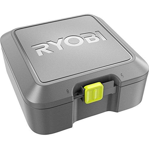 Ryobi 5132 002780 Boîte de Rangement, Plastique, Noir/Vert, 23 x 23,5 x 10,5 cm