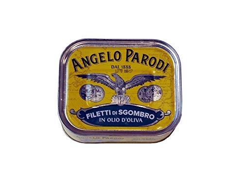 Angelo Parodi - FILETS DE MAQUEREAU A L'HUILE D'OLIVE 325GR