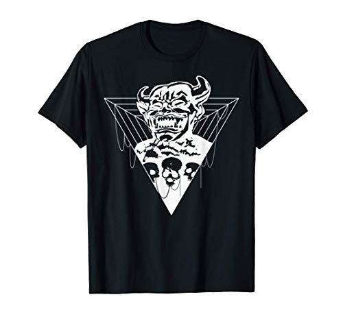 Satan Black Hexe Okkult Magie Gothic T-Shirt