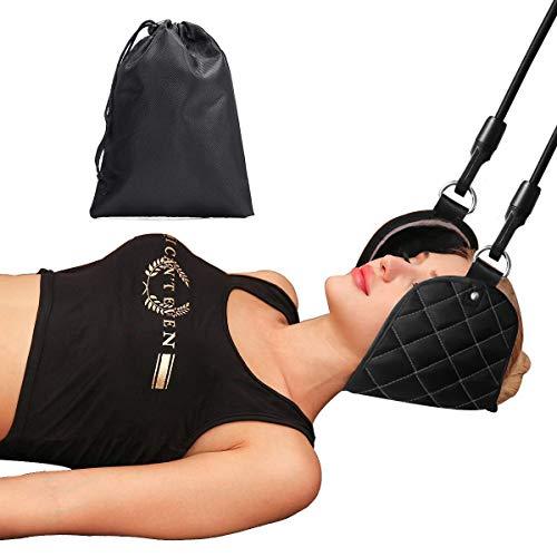 Hals Hängematte, Nackenhängematte Kopf Nackenmassagegerät für Chronische Nacken und Schulterschmerzen|Bessere Hals Relax Für Büro Haus für Männer Frauen|Tragbare Schmerzlinderung