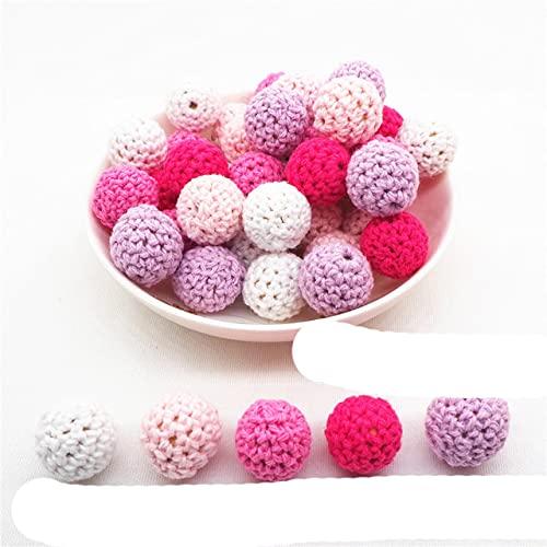 Chengkai 10pcs Silicona Koala Mordedor Beads DIY Animal Baby Shower Dentición Montessori Sensory Cartoon Jewelry Beads BPA Free-20mm crochet, China