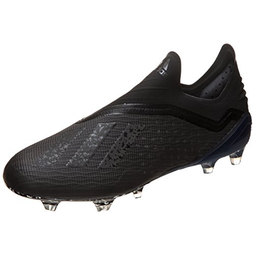 adidas X 18+ FG, Zapatillas de Fútbol Hombre, Negro Schwarz Schwarz, 39 1/3 EU 🔥