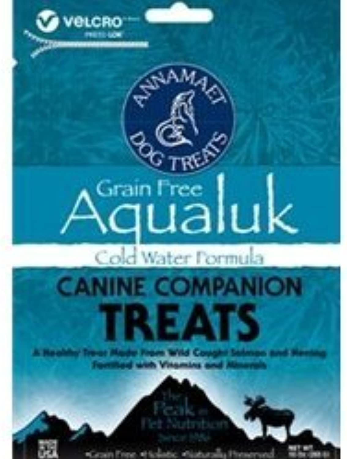 Annamaet GrainFree Aqualuk Cold Water Formula Dog Treats, 10oz bag by Annamaet