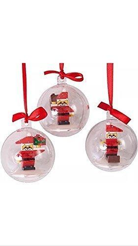 Lego - Palline Di Natale Con Omini Lego All'Interno