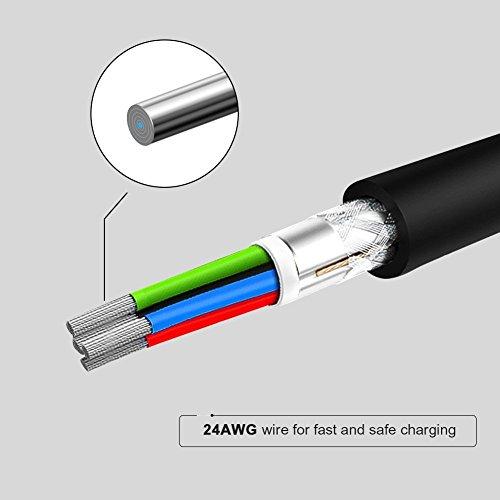 CableCreation 2er-Pack Kurzes Micro USB Kabel, USB zu Micro-USB, A-Stecker auf Micro-B Schnellladekabel, Dreifach Abgeschirmt, Kompatibel mit TV-Stick, Chromecast, PowerBank, Android Phone, 15cm