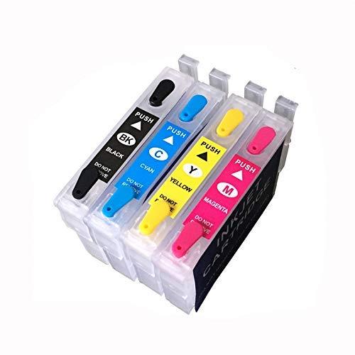 T2971 - Cartucho de Tinta Recargable T2964 para Epson XP231 XP431 XP241 XP-431 XP-231 XP-241 XP 431 231 con un Solo Chip