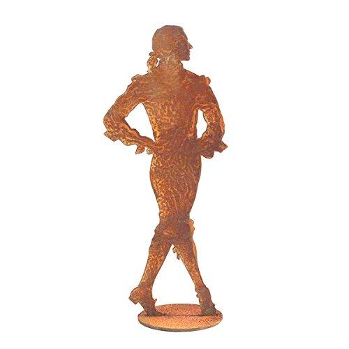 440s.de roestvrijstalen barok, danser, ca. 27 cm H, op plaat | SA-BTC | 4260553561021