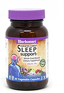 Bluebonnet Nutrition Targeted Choice Sleep Support Herbal Blend, 30 Count