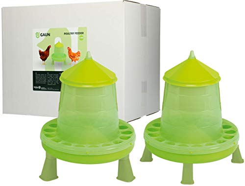Plastic Hanging Poultry Feeder with Legs
