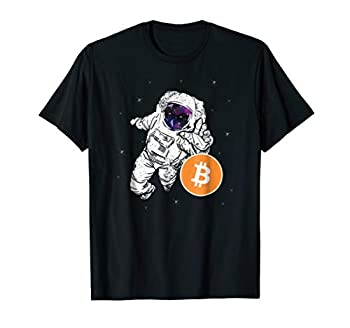 Astronaut Reaching For Bitcoin T Shirt