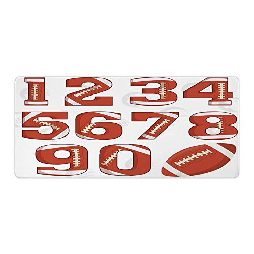 Team, Player's Name and Number Football Portable Mouse pad Extended Mouse pad rog Mouse pad Mouse pad Marble Mouse pad Design