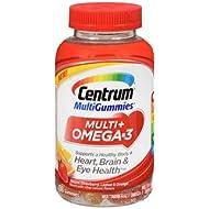 Centrum Omega 3 Multi Gummies Multivitamins - 100 ct, Pack of 3