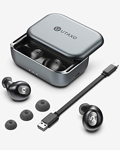 Bluetooth Earbuds, Wireless Earbuds, 2200mAh Slide Design Charging Case, Bluetooth 5.0 Headphones in-Ear Stereo Hi-Fi Sound,Bluetooth Headset Wireless Earphones IPX7,Noise-Canceling,One-Step Pairing