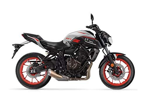 Kit DE Pegatinas Motocicleta MT-07 2018-2020 FS-MT-07-2018-2020 (Ice Grey)