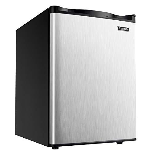 Euhomy Upright freezer, Energy Star 2.1 Cubic Feet,Compact Single Door Mini Freezer