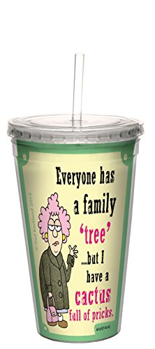 17 Ounce Tree-Free Greetings BT21169 Barista Vacuum Insulated Travel Coffee Tumbler Not Impossible