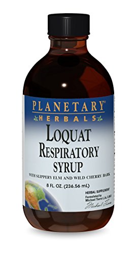 Planetary Herbals Loquat Respiratory Syrup, 8 Fluid Ounce