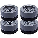 Almohadillas Antivibración Lavadora. juego de cuatro piezas, antivibración, resistente al desgaste, antideslizante, para frigoríficos, cocinas, muebles, etc.