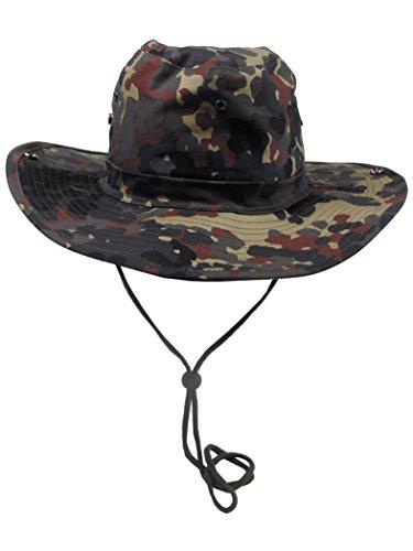 Militär a Chapeau de brousse avec mentonnière Camouflage Taille 59