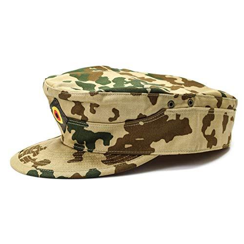 Original Marke Bundeswehr Cap Fleckt-tarn Olive Wüste Camouflage Feld Militär Hut Kampf Original 3 Farben - - MEDIUM