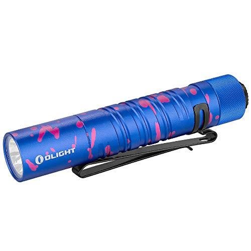 OLIGHT I5UV LED Linterna Ultravioleta Linterna UV 365nm de Luz Púrpura con Pila Alcalina AA, Impermeable IPX8, Lámpara UV para Detección de Agentes Fluorescentes e Identificación de Autenticidad