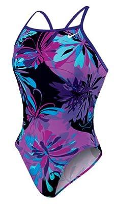 More information (Nike Swim Women's Retro Floral Classic Lingerie Tank  Swimsuit)