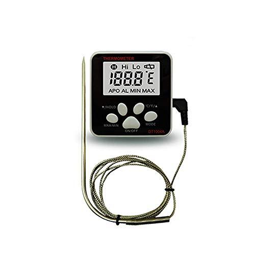 Empty Lebensmittelthermometer, elektronische Digitalanzeige Kontaktthermometer, Temperaturbereich -50 ℃ ~ 300 ℃