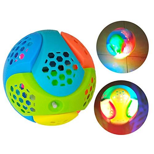 HshDUti Assemblée enfants boule de danse lumières son musique enfants cadeau bébé jouet lumineux Random Color