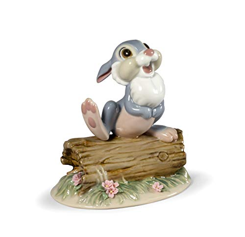 LLADRÓ Figur Klopfer. Thumper (Disney). Porzellan.