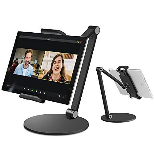 Surface Pro Stand, iPad Pro 12.9 Stand, Inifispce Multi-Angle Adjustable Tablet Stand Holder for 4.7''- 13'' Screen Microsoft Surface Pro Series, iPad Pro 11 / 12.9, iPad, Mini, Air and More (Black)