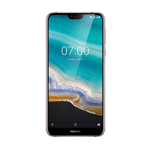 Nokia 7.1 5.8-Inch Android One UK SIM-Free Smartphone with 3GB RAM and 32GB Storage (Single Sim) - Steel