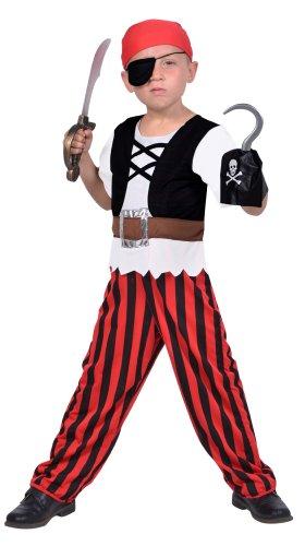Cesar - F295-001 - Costume - Déguisement 2 en 1 Pirate Et Cowboy avec Accessoires - 3/5 Ans