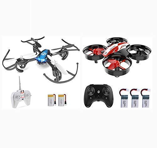 Holy Stone Mini Drone Set HS170 and HS210 Red, with Altitude Hold Headless Mode
