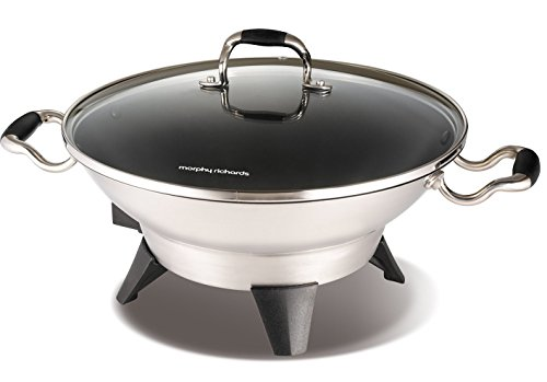 Morphy Richards 48899 Supreme Precision Electric Wok by Morphy Richards