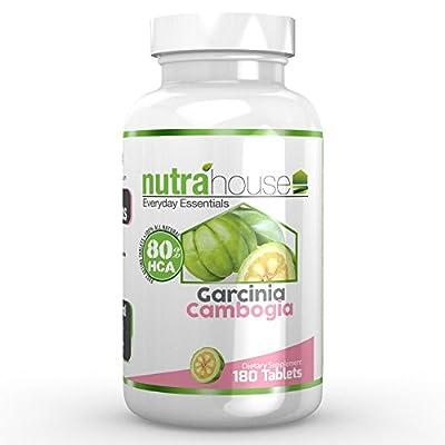 Garcinia Cambogia 80% HCA by NutraHouse