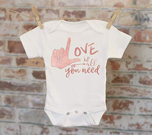 Love Is All You Need Onesie®, Bohemian Onesie, Song Lyrics Onesie, Cute Baby Bodysuit, Cute Onesie, Boho Baby Onesie