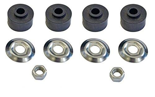 Amazing Deal Eagleggo 2 Shock Bushing Kit for Club Car 1982 & up DS + Precedent Golf Carts, Replaces...