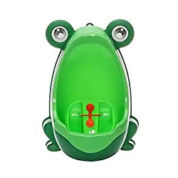 Cute frog potty training urinal for boys