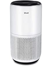 LEVOIT Luchtreiniger Slimme met Lasersensor en Alexa, 3-in-1 H13 HEPA-Filter, Tegen 99,97% Van Stofpollenrook Voor Mensen met een Allergie, 24dB Nachtmodus Automatische Modustimer, Tot 83m²